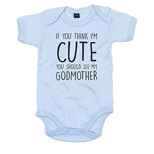 08afb7873 Brand88 - If You Think I'm Cute You Should See My Godmother, Printed