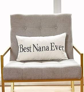 nana pillow with names