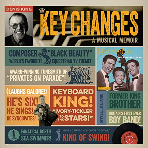 Key Changes: A Musical Memoir audiobook cover art