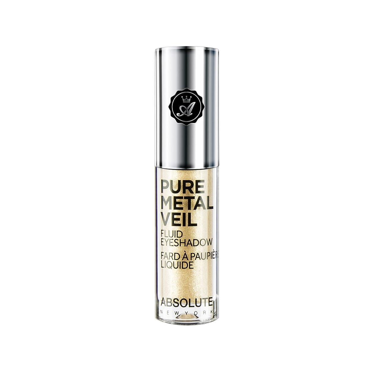 喉が渇いた容疑者旋律的(6 Pack) ABSOLUTE Pure Metal Veil Fluid Eyeshadow - Trust Fund (並行輸入品)