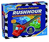 ThinkFun Rush Hour Deluxe Traffic Jam Logic Game and STEM Toy – Tons of Fun with Over 20 Awards Won, International for Over 20 Years