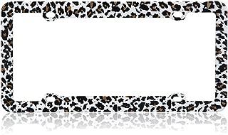 Cheetah High Quality Plastic License Plate Frame