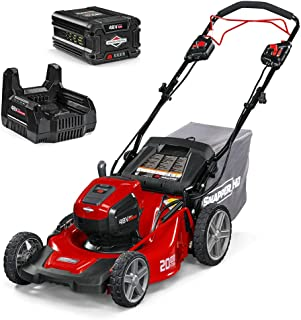 Snapper HD 48V MAX Electric Cordless Self-Propelled Lawnmower Kit with 5.0 Battery and Charger, 1688022, 20SPWM48K