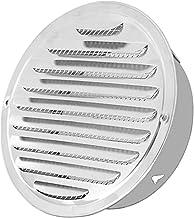 Ventilatiegatplaat Roestvrij staal buitenkant Muur Ventures Ronde Ducing Ventilatieroosters 70mm, 80mm, 100 mm, 120mm, 150...