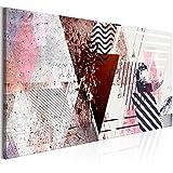 murando Cuadro en Lienzo Abstracción 135x45 cm 1 Parte impresión en Material Tejido...