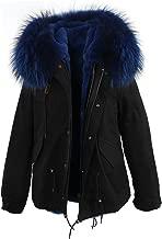 Best raccoon fur hooded coat Reviews