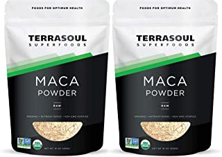 Terrasoul Superfoods Organic Raw Maca Powder, 2 Lbs - Premium Quality | Supports Increased Stamina & Energy