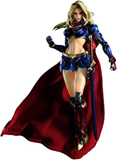DC Comics VARIANT PLAY ARTS Kai Super Girl (PVC Painted Action Figure)