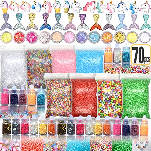 70PCS Slime Add Ins Slime Kit...