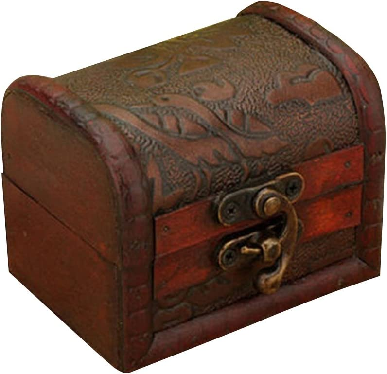 Old Box Antique Leather Jewelry Box Antique Jewelry Box Vintage Leather Wood Chest Jewels Leather Wood Jewelry