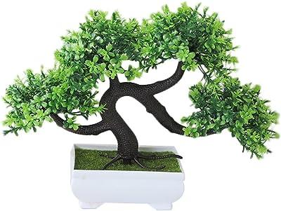 HONIC 1 Planta Artificial para decoración de Escritorio de piña ...