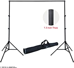 Linco Lincostore Photo Backdrop Stand 9x10 ft Heavy Duty Photography Background Support System Kit 4164