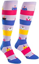 Sock It To Me, Knee High Funky Socks: Cats and Kitties - Meow