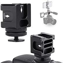 Topiky Hot Shoe Bracket  Aluminum Alloy FS-04 Camera Rotating Four-head Multi-function Hot Shoe Bracket Built-in Backstop