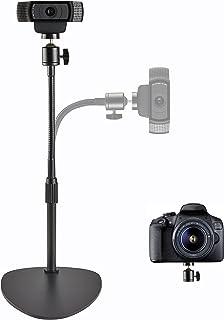 OXENDURE Webcamstandaard Camerabevestiging Gewogen basis, voor Logitech Webcam C925e C922x C922 C930e C930 C920 C615, GoPr...