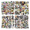 200Pcs Mixed Anime Stickers, Waterproof Naruto Stickers My Hero Academia Demon Slayer Dragon Ball Z Stickers for Car… |