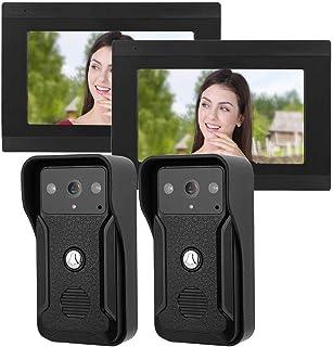 7in con Cable WiFi Visión Nocturna Doorbel TF Tarjeta 32 GB Seguridad en el hogar(Australian regulations)