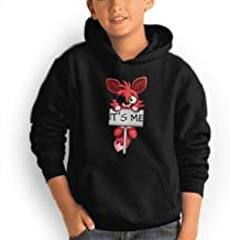Five-Nights-at-Freddy Foxy Fashionable Perfect Adolescent Children Boys and Girls Hoodies
