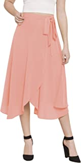 Martini Georgette wrap Skirt