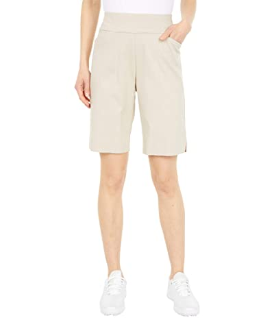 Krazy Larry Pull-On Shorts with Pockets (Stone) Women