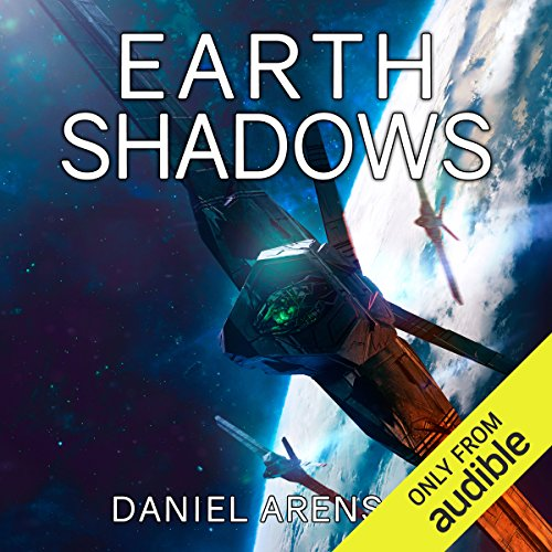 Earth Shadows audiobook cover art