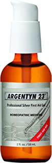 Argentyn 23� Professional Silver First Aid Gel � 2 oz. (59 mL) Bottle � Homeopathic Medicine for Topical Use