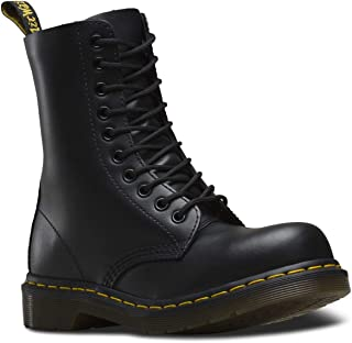 Dr. Martens - 1919 10-Eye Fashion Steel Toe Leather Boot for Men and Women