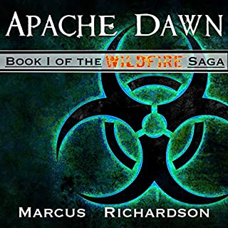 Apache Dawn audiobook cover art