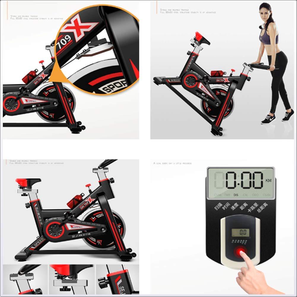 FFUSHAN Inteligente Bicicleta de Spinning en casa de la Bicicleta ...