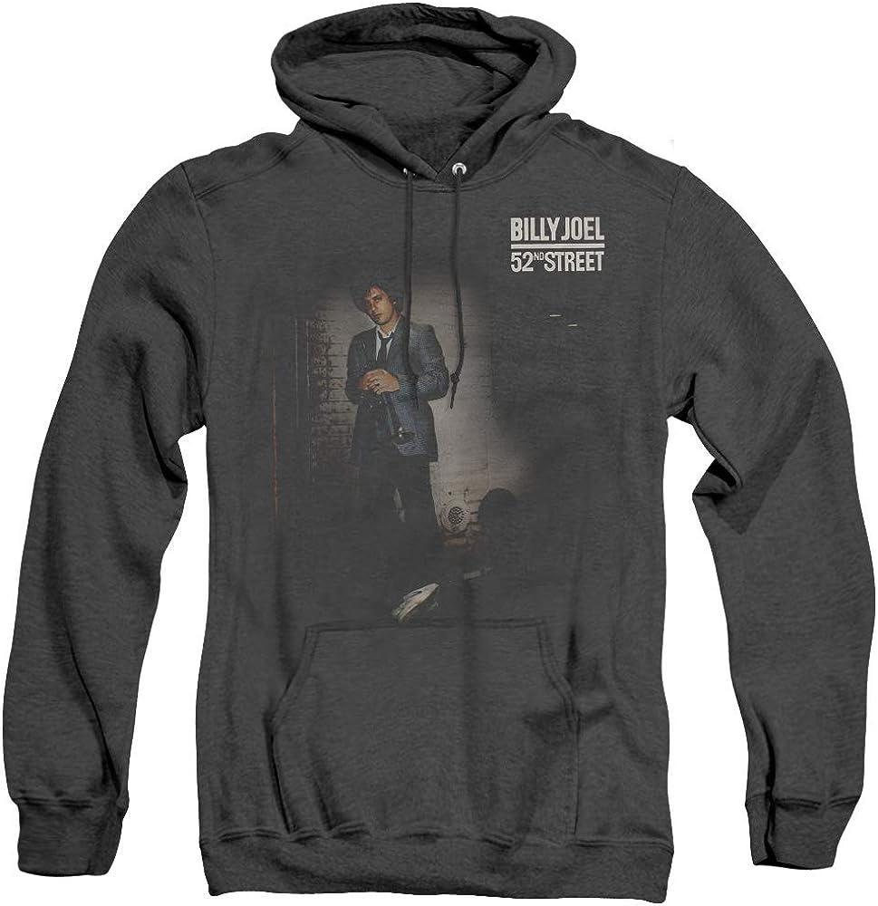 Trevco 引き出物 Billy Joel 52Nd Street Pull-Over Heather Adult Hoo Unisex 日本製