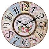 Jones Home And Gift, Cl_32723, Orologio da Parete, Pastello