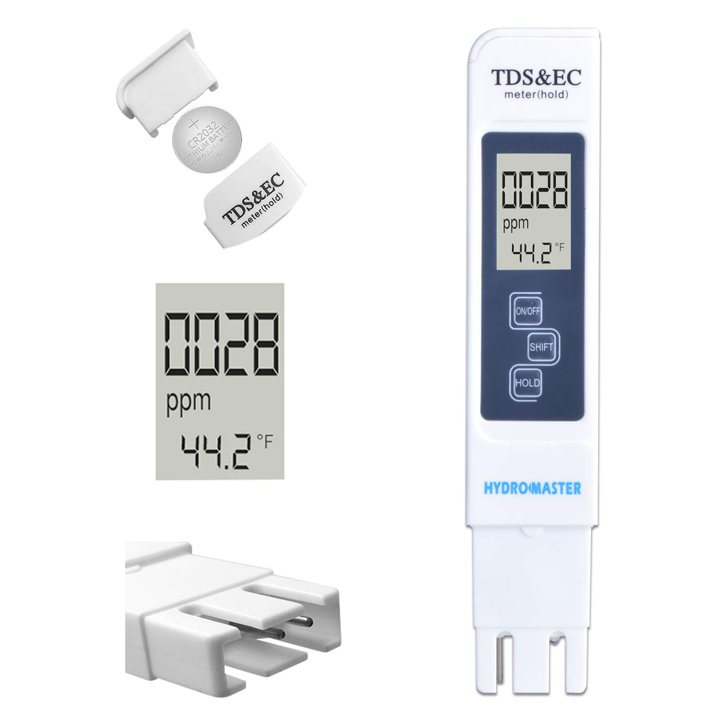 Hydro Master TDS Meter Digital Water Tester in EC and Inexpensive 3 New Shipping Free 1