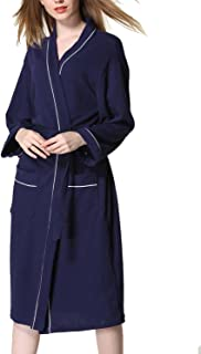 (イモクリコ) Imocrico お風呂上りにサッと羽織れる バスローブ 男女兼用 ガウン ワッフル生地 さっぱり ホテル スパ サウナ