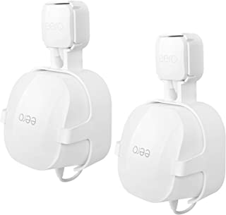 HOLACA Outlet Wall Mount Hanger for eero 6 Dual-Band mesh Wi-Fi 6 Router, Space Saving Holder, Easy Moved, Cord Management...