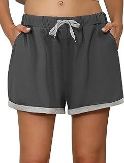 Wayleb Pantalones Cortos de Deporte Mujer Pantalon Corto Chandal de Verano para Mujer Casual Deportivos Shorts para Correr...