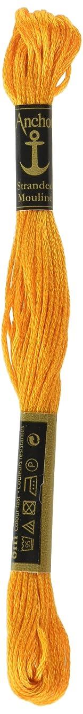 Anchor Six Strand Embroidery Floss 8.75 Yards-Citrus Dark 12 per Box