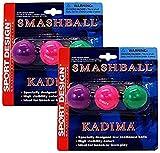 Sport Design Replacement Beach Balls for Beachball Smashball Kadima Watercolors, Set of 6