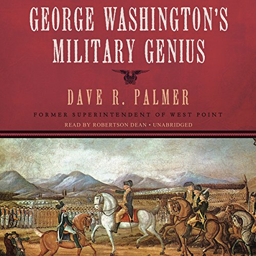 George Washington's Military Genius audiobook cover art