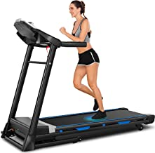 ANCHEER Treadmill, 3.25hp, App Control, Folding Treadmill Machine for Home with Automatic Incline, for Running, Walking, a...
