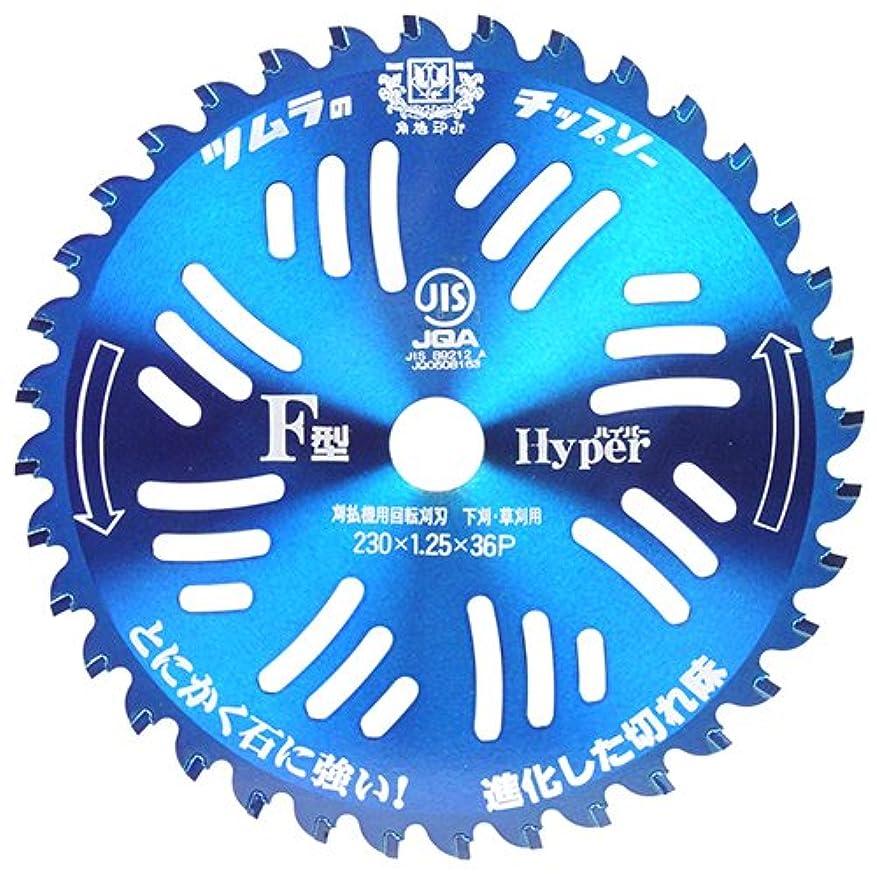 消毒する証明書腸ツムラ チップソー F型ハイパー 5枚セット 230×36P 9インチ
