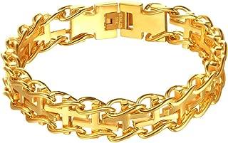 Best heavy 18k gold bracelet Reviews
