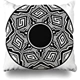 Throw Pillow Cover Square 18x18 Inch Native Acoma Pottery Painting Abstract Arizona American Indian Pueblo Pot Cushion Case Home Decor Pillowcase