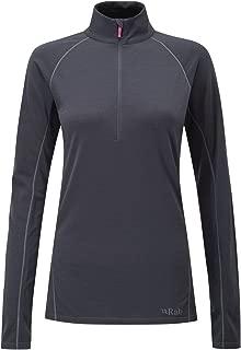 Merino+ 160 Long Sleeve Zip Tee - Women's