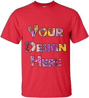Custom T-Shirt 100% Cotton Gildan Softstyle. Your Logo/Selfie/Text/Image Here.