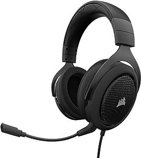 Corsair Gaming CA-9011170-EU HS50 Analog 3.5mm/USB Stereo Gaming Headset PC/PS4/XONE- Carbon