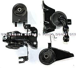 Engine Motor TBVECHI New Engine Motor Trans. Mount Set for 02-03 Mazda Protege5 2.0L Manual standard