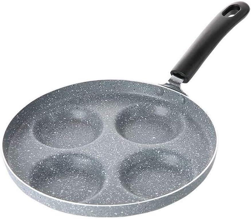 ZHUANYIYI Pancake Pans 4-Hole Frying Made Thick Fashionable Pan Aluminum of San Antonio Mall