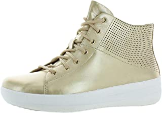 Womens F-Sporty Leather High Top Fashion Sneakers