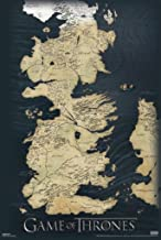 Pyramid America Game of Thrones Westeros Map TV Cool Wall Decor Art Print Poster 24x36