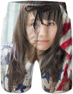 ビーチパンツきむら ふみの Kimura Fumino (10) おしゃれ 大きいサイズ サーフパンツ メンズ 水着 海水パンツ 温泉 海水浴 メッシュインナー 水陸両用 海水パンツ ショートパンツ 通気 速乾 ハーフパンツ